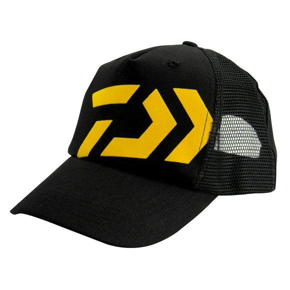 D-Vec Trucker Cap - Black/Yellow