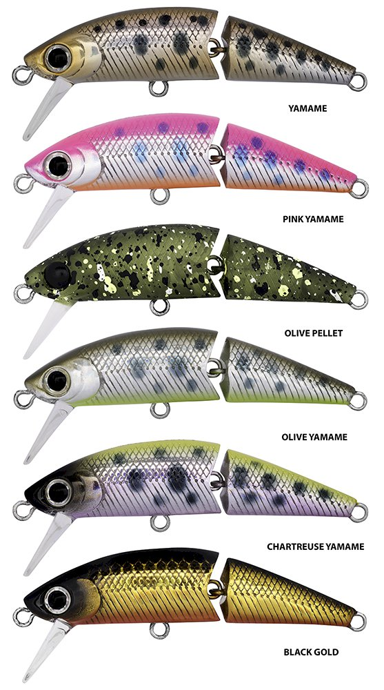 Dr Minnow Joint 5F Lures