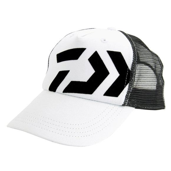 D-Vec Trucker Kids Cap - White/Black