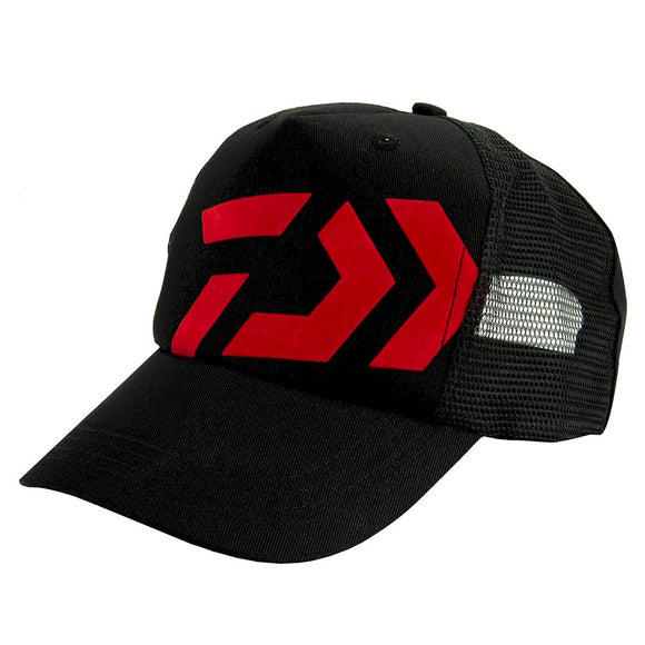 D-Vec Trucker Cap - Black/Red
