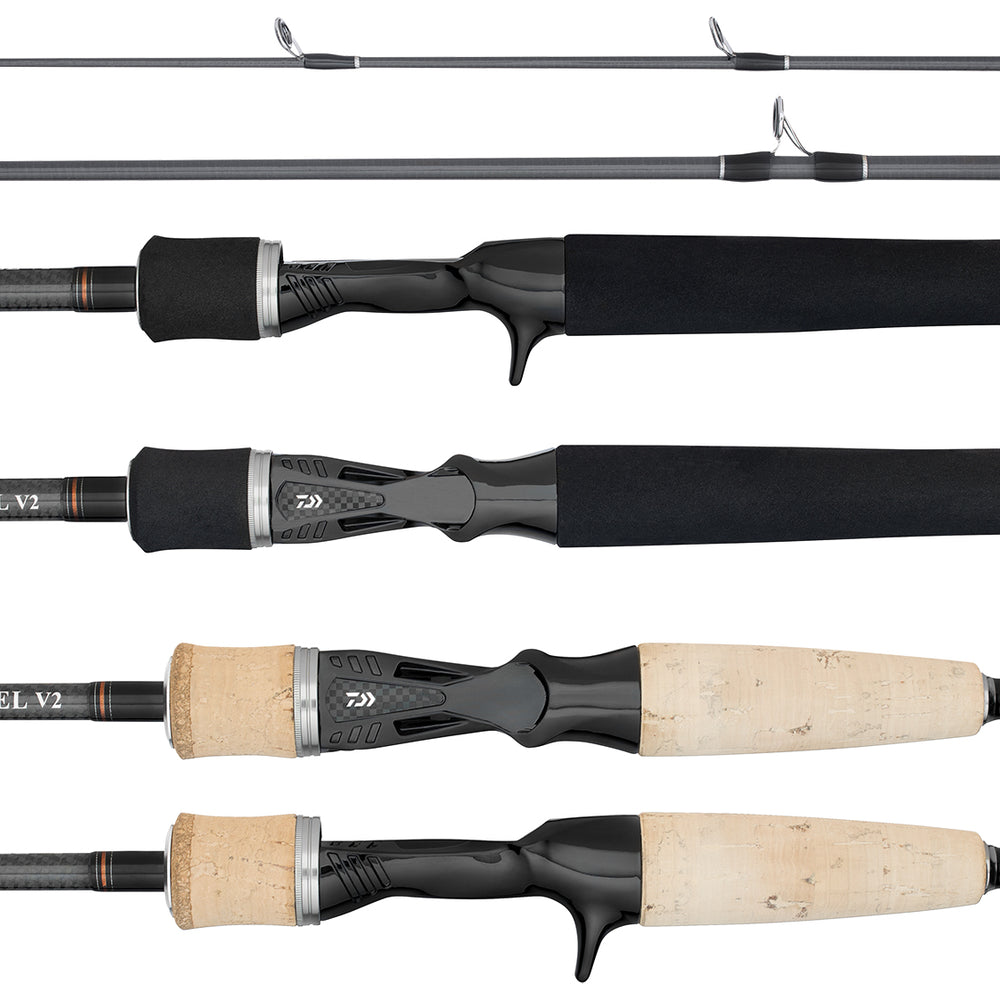 Black Label V2 Spin & Baitcast Rods