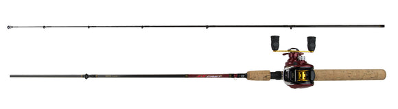 D-Cast 3BB Baitcaster Pre-Mounted Rod and Reel Combos