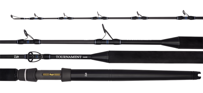 20 TOURNAMENT GAME RODS