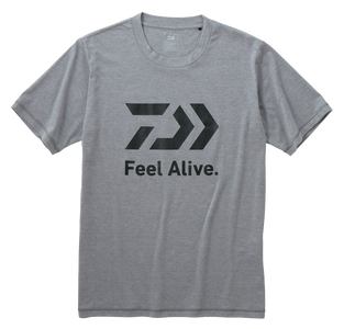 FEEL ALIVE S/S T SHIRT- GREY