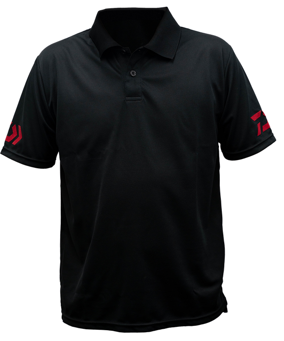 DVEC POLO SHIRT- BLACK