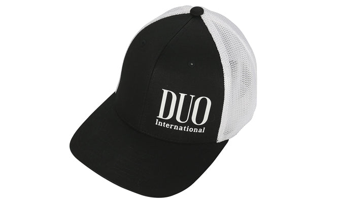 Duo Flex Mesh Cap Black/White