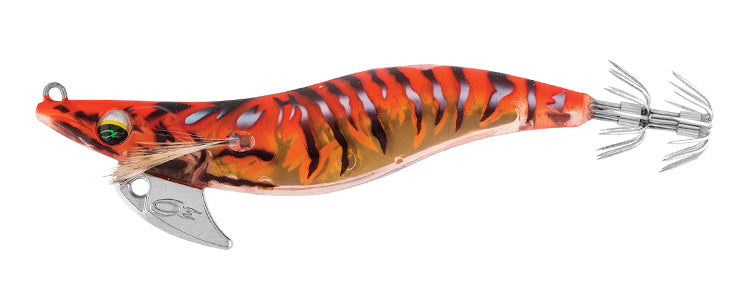 EMERALDAS NUDE 35 SQUID JIG ORANGE EBI