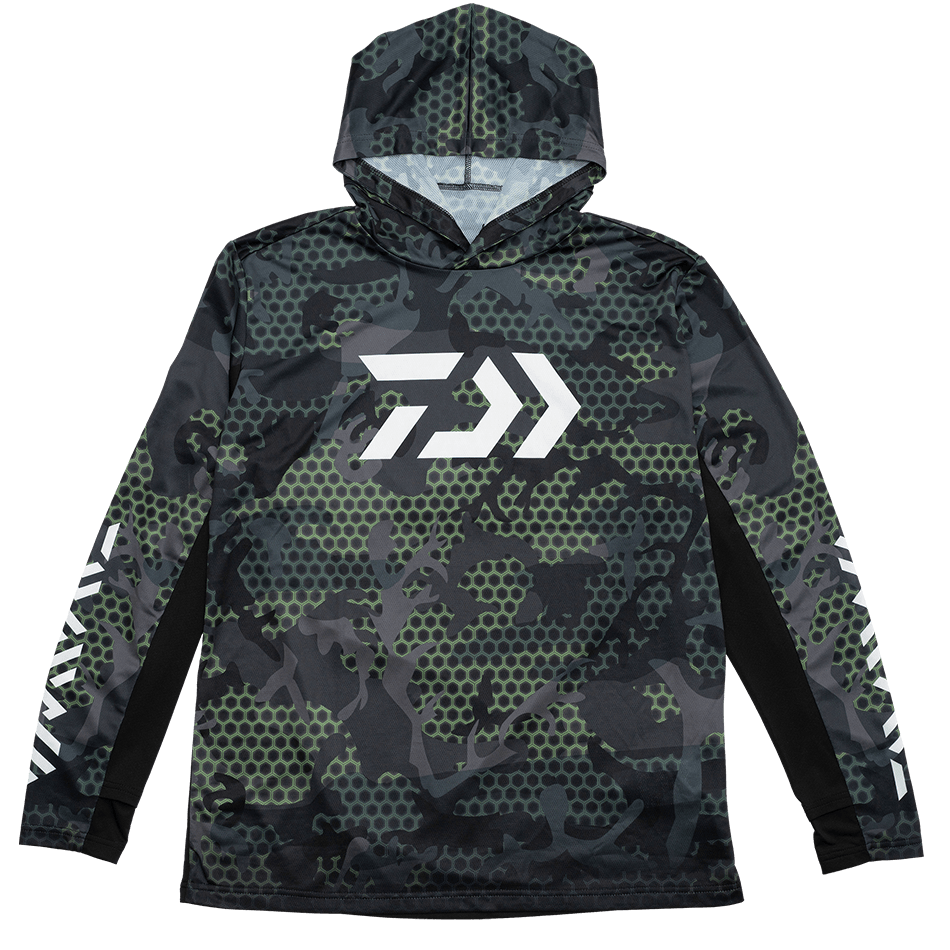 Hex Hooded Jersey- Green