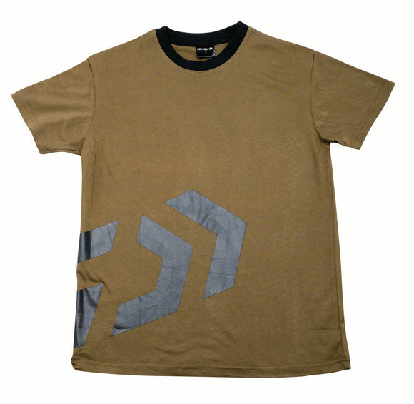 Daiwa T-Shirt Khaki / Black