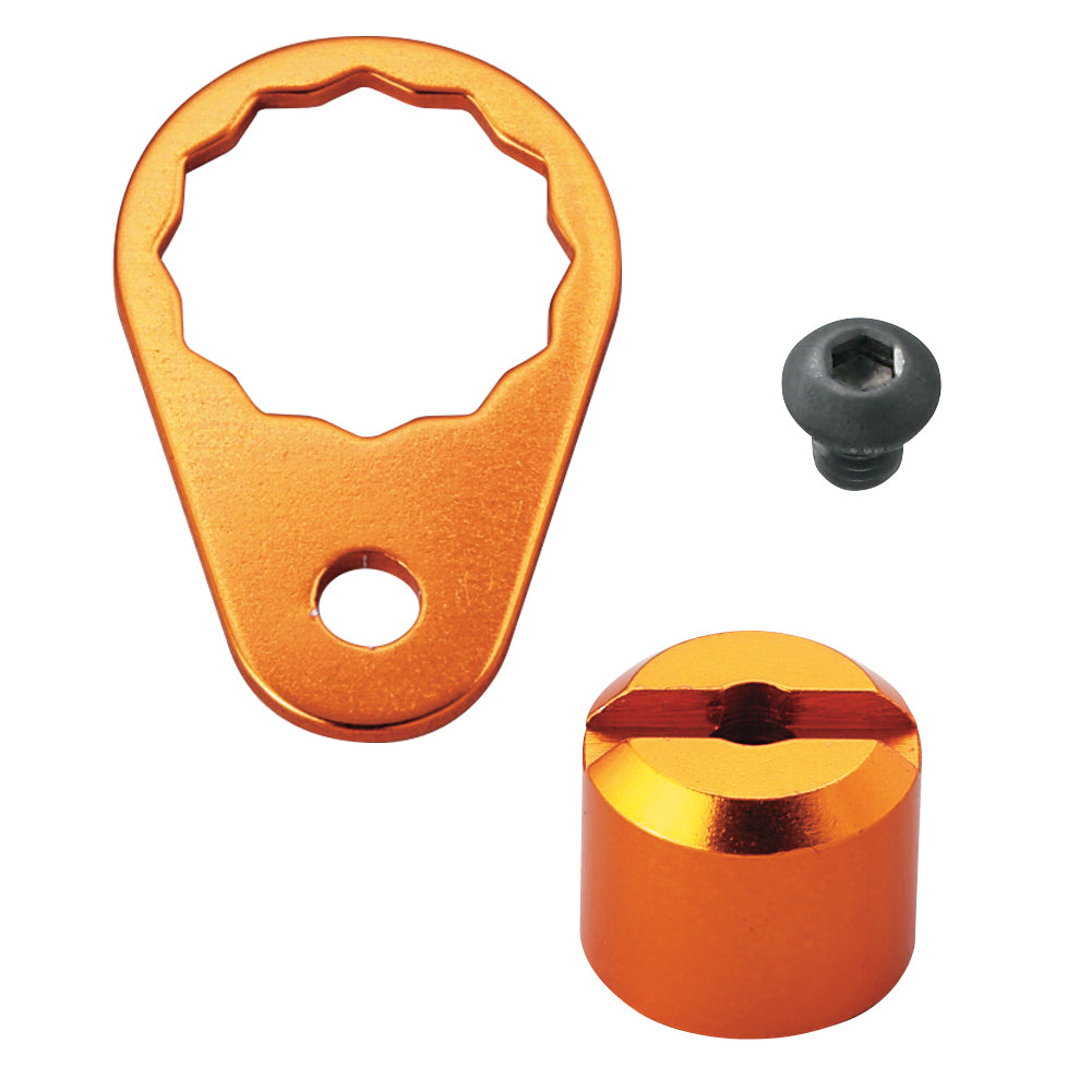 SLPW B/C Retainer/Pawl Nut Cover Kit/Orange
