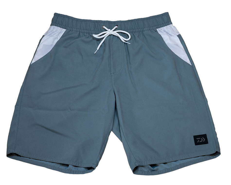 Hex Shorts- Gray/White