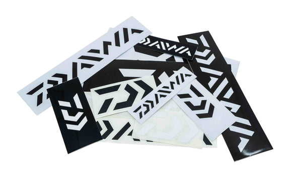 Daiwa Sticker Pack - Small (B&W)