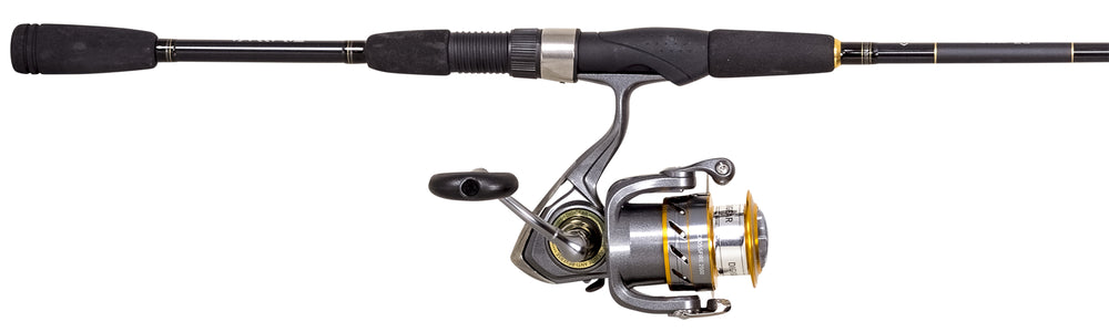 Crossfire/RZ Pre-Mounted Rod & Reel Combos