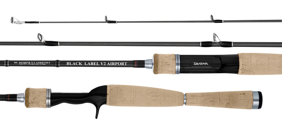 Black Label V2 Airport Spin & Baitcast Rods