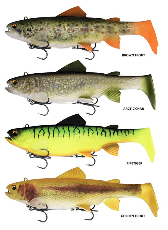 Trout Swimbait Lures