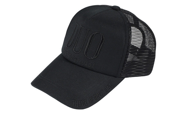 Duo Flex Mesh Cap Black