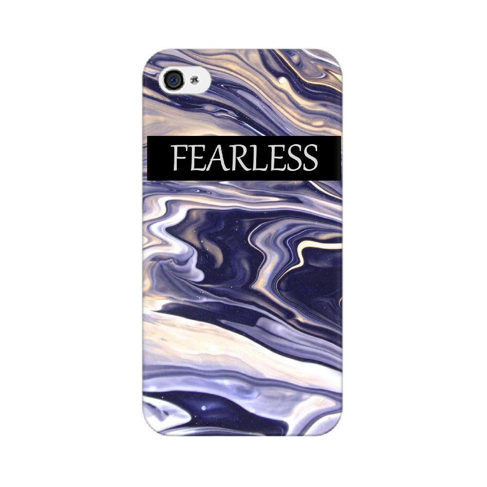 Purple marble effect Iphone & Samsung phone cover