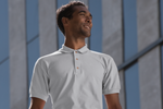 Grey melange Polo