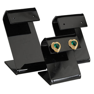 Black Acrylic Earring Stand Set