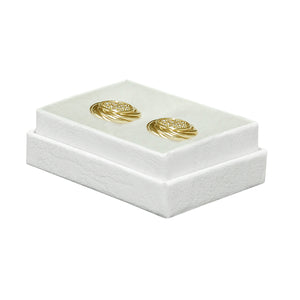 "White Cotton Filled Boxes - 2"" x 1 1/2"" x 5/8"""
