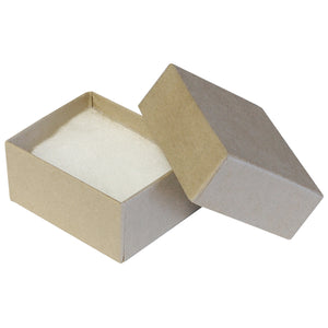 "Kraft Cotton Fill Boxes - 2 1/2"" x 1 5/8"" x 1"""