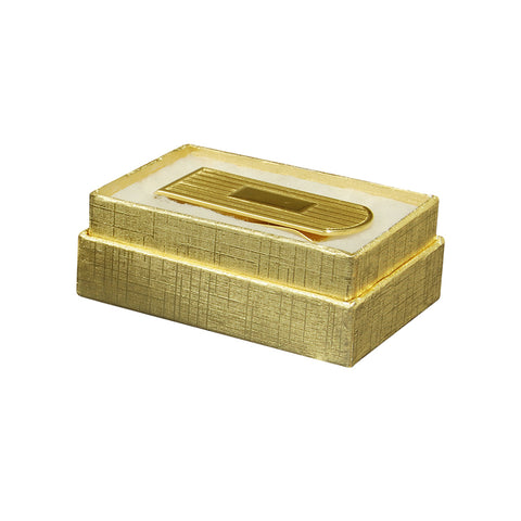 "Gold Cotton Fill Boxes - 2 1/2"" x 1 5/8"" x 1"""
