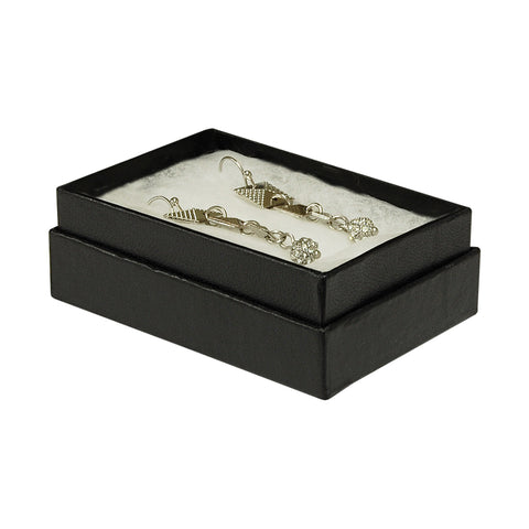 "Black Cotton Fill Box - 3"" x 2"" x 1"""