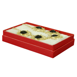 "Red Cotton Fill Boxes - 5 1/2"" x 3 1/2"" x 1"""