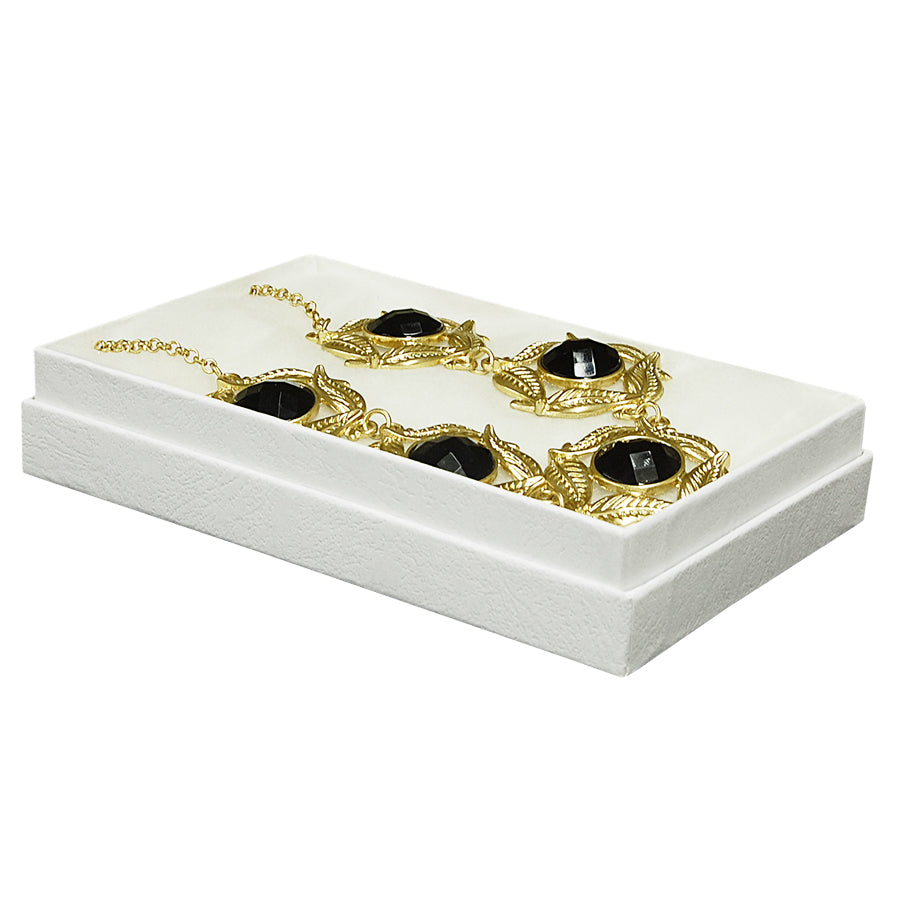 "White Cotton Filled Boxes - 5 1/2"" x 3 1/2"" x 1"""