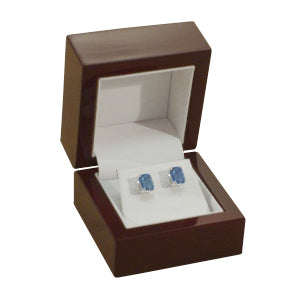 Rosewood Stud Earring  Box
