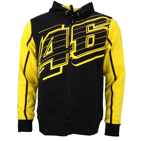 Image of Valentino Rossi Yamaha Factory Racing Team Moto GP Adult Hoodie Jacket