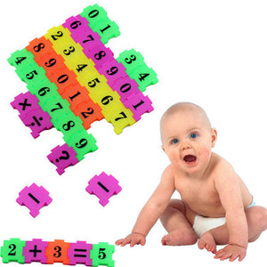 Child Mathematics Puzzle Montessori Early Learning Educational Toy Materials - fobglobal
