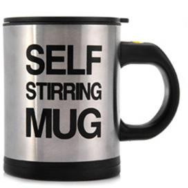 Image of Self Stirring Smart Coffee Mug Double Insulated Cup