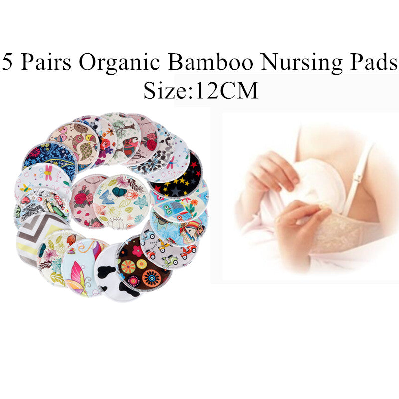 Reusable Bamboo Breast Nursing Pads For Mom