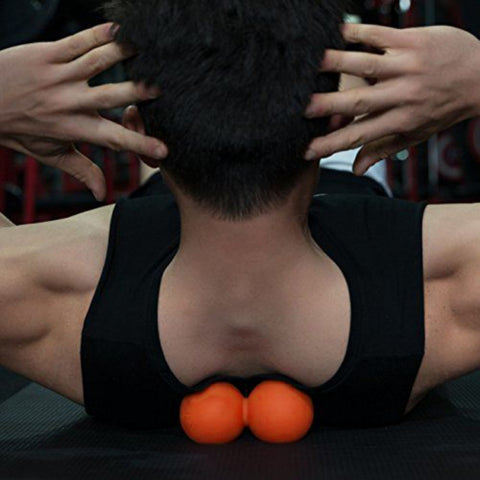 Image of Double-Head Massage Ball Peanut Massage Ball - fobglobal