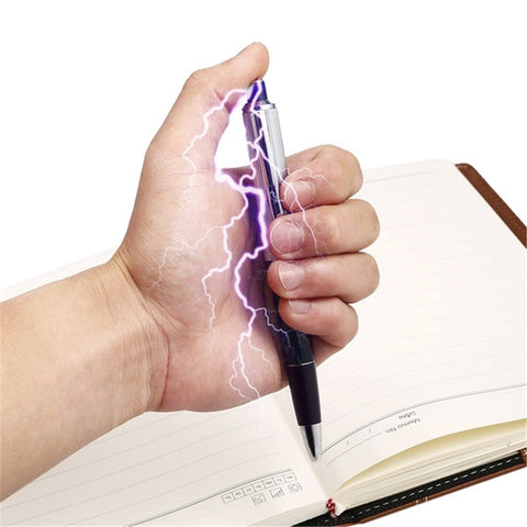 Image of Electric Shock Pen Gadget Novelty Gag - fobglobal