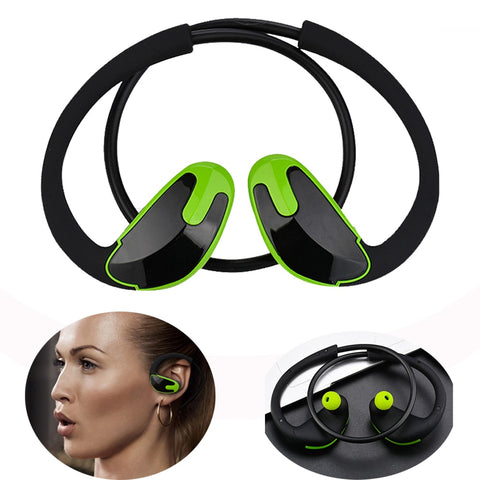 Image of Neckband Headphones Bluetooth Earphone with Mic Wireless Stereo Headset - fobglobal