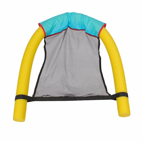 2018 Summer Amazing Noodle lounger Chair floating chair Ride-ons water hammock Toy for Adult Pool Rafts Swimming Inflatable Toys - fobglobal