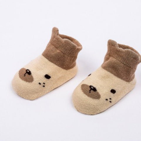 Newborn Baby Low Top Cartoon Pattern Non-slip Socks - fobglobal