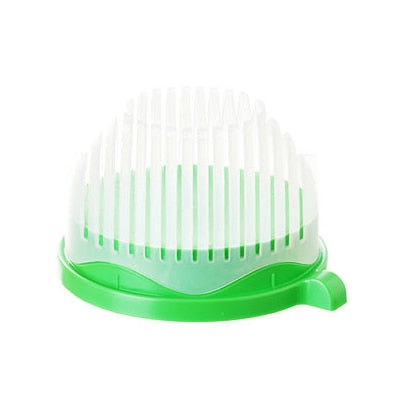 Image of 60 Seconds Easy Salad Maker Tool Fruit Vegetable Chopper Kitchen Gadget - fobglobal