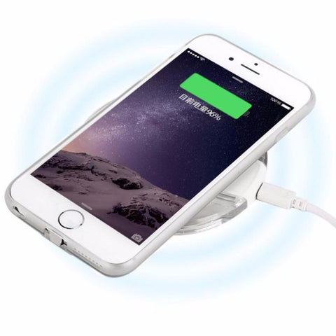 Image of Universal Qi Wireless Fast Charger Pad Dock for iPhone Samsung Devices