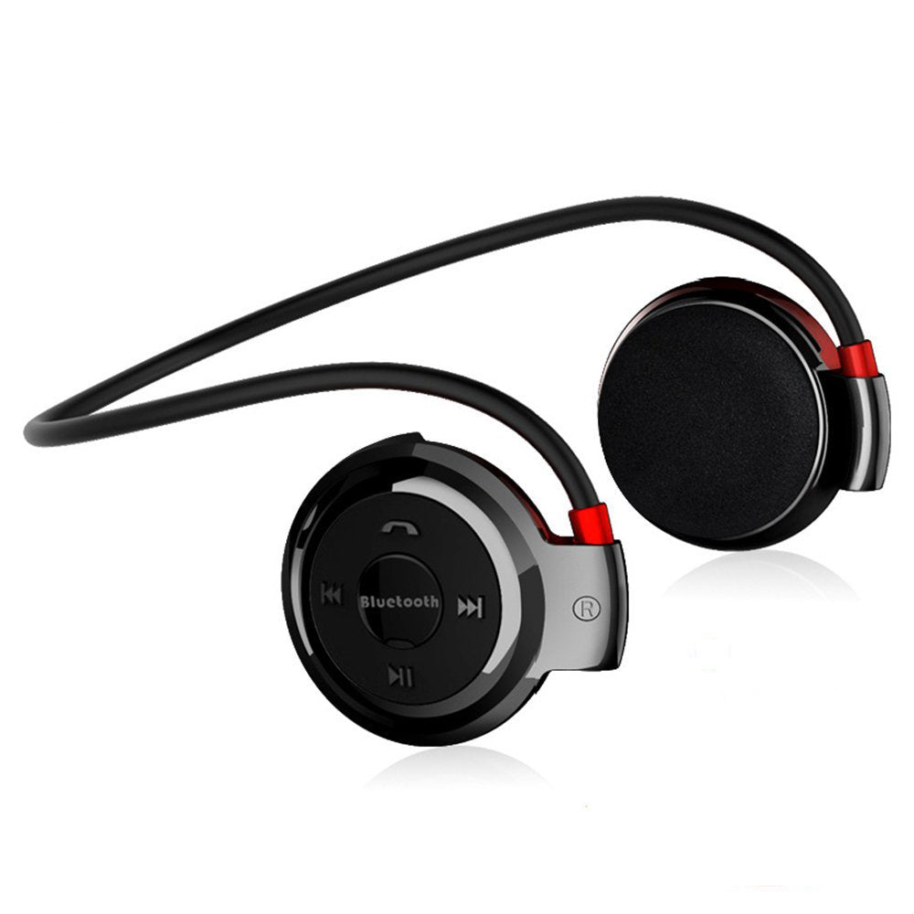 MP3 Player Bluetooth Headphone, Wireless Sport Headset MP3 Player With FM Radio, Stereo Earphone TF Card MP3 Max to 32GB - fobglobal