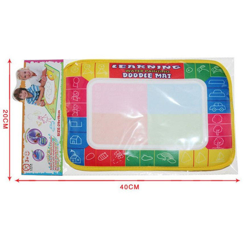 Water Drawing Painting Writing Mat Board Magic Pen Doodle Toy
