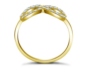 10K Solid Yellow Gold Wedding Ring Pure Gold