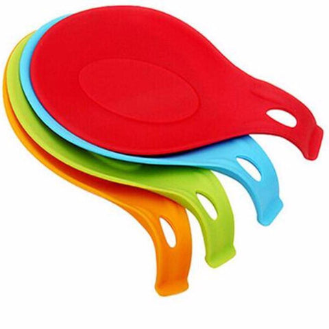 Image of Silicone Spoon Mat Spatula European Style Kitchen Gadget