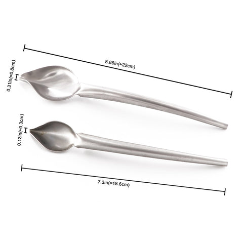Stainless Steel Chocolate Spoon Cake Decoration Baking Tool
