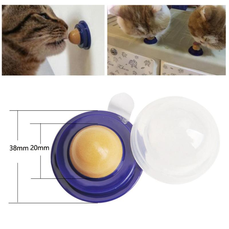 Healthy Cat Snacks Catnip Sugar Candy Licking Toy - fobglobal