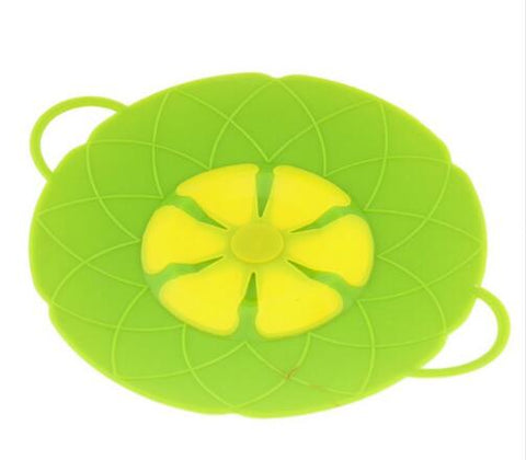 Silicone Lid Spill Stopper Cover For Pot Kitchen Gadget