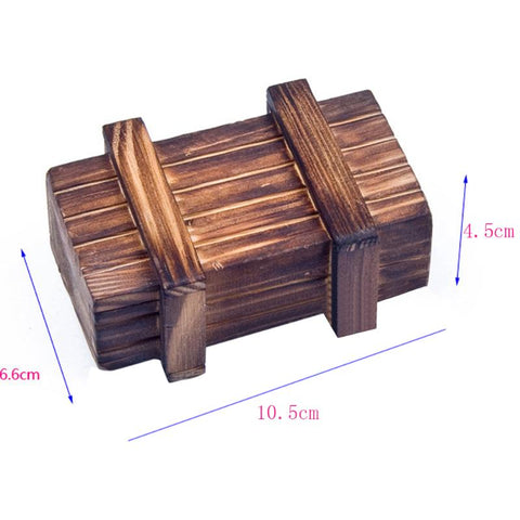 Image of Wooden Puzzle Intelligence Toy Box
