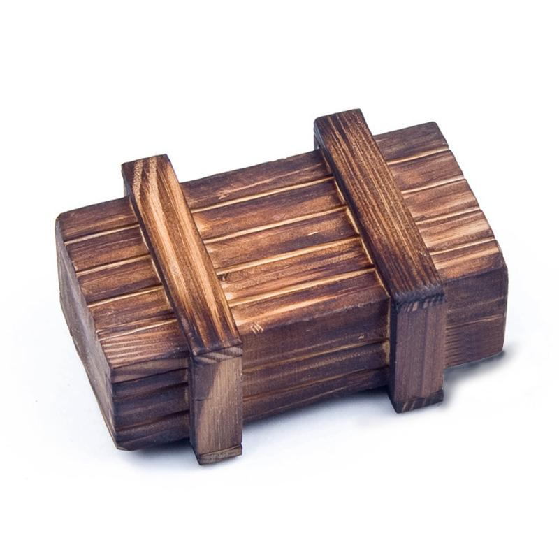 Wooden Puzzle Intelligence Toy Box